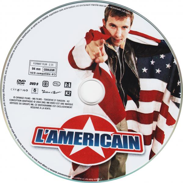 L'americain ( sticker )