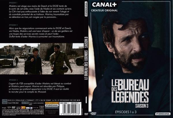 Le bureau des legendes saison 3 dvd 1 slim