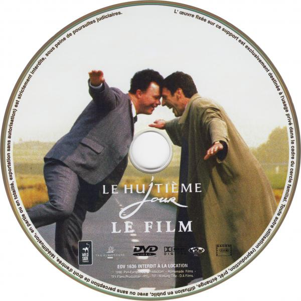 Le huitieme jour le film sticker