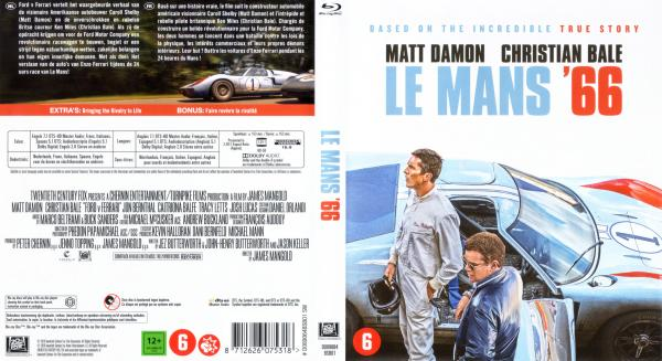 Le Mans 66 Blu-ray
