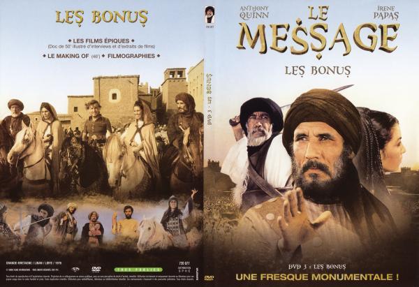 Le message Dvd 3 (Bonus)