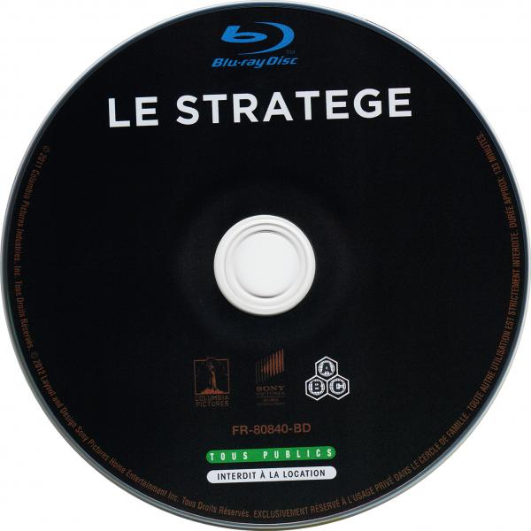 Le stratege (blu-ray) ( sticker )