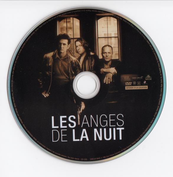 Les anges de la nuit stickers dvd v2