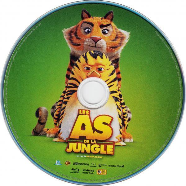 Les as de la jungle (blu-ray) ( sticker )