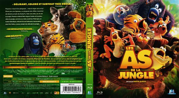 Les as de la jungle (blu-ray)