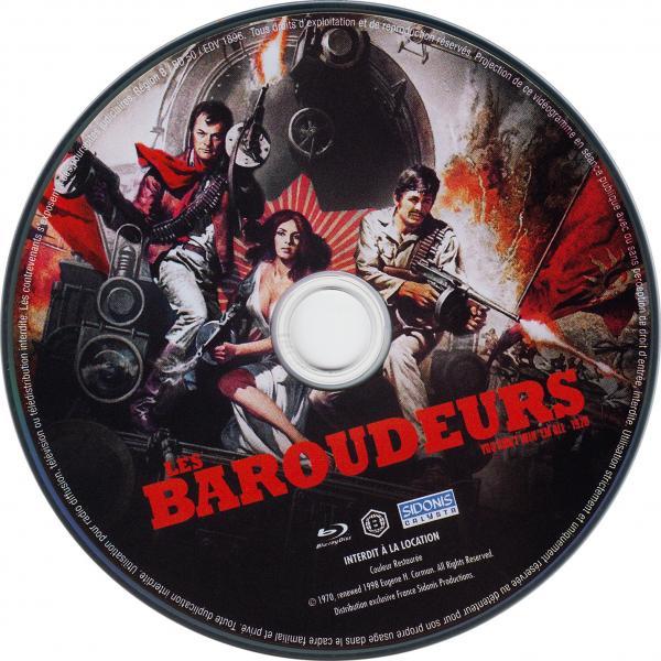 Les baroudeurs  (blu-ray) ( sticker )