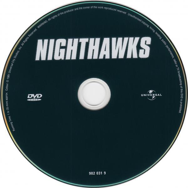 Les faucons de la nuit ( sticker )