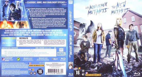 Les nouveaux mutants (Blu-ray)