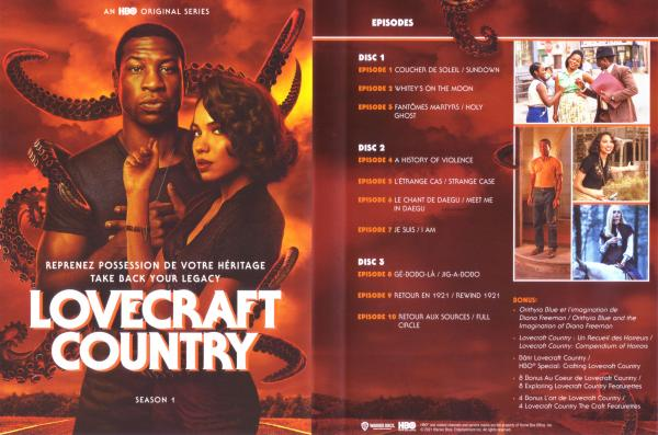 Lovecraft country Saison 1 (Inlay)