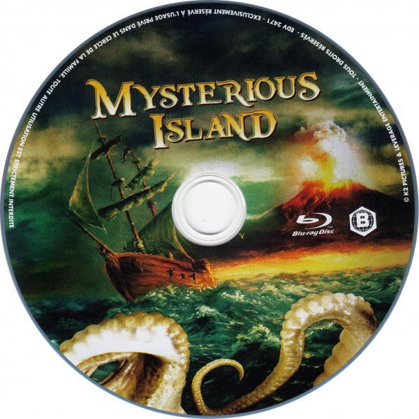 Mysterious island (blu-ray)  sticker