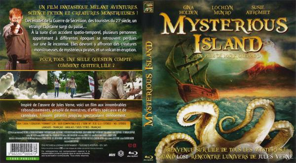 Mysterious island (blu-ray)