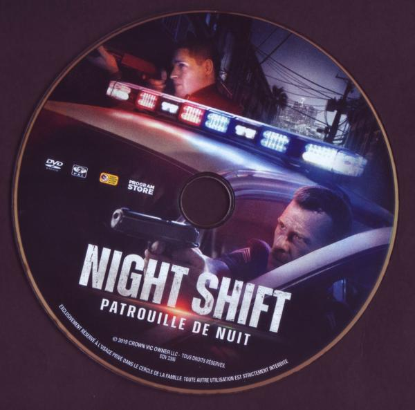 Night shift patrouille de nuit (Sticker)