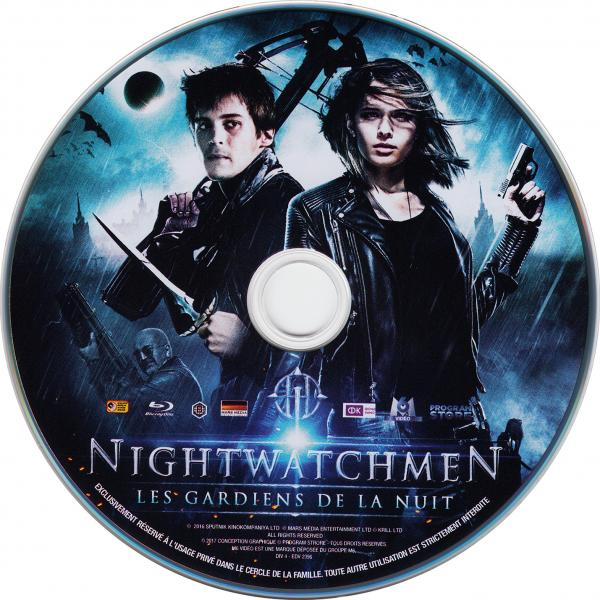 Nightwatchmen (sticker)(Blu-Ray)