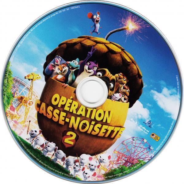 Operation casse noisette 2 (blu-ray) ( sticker )