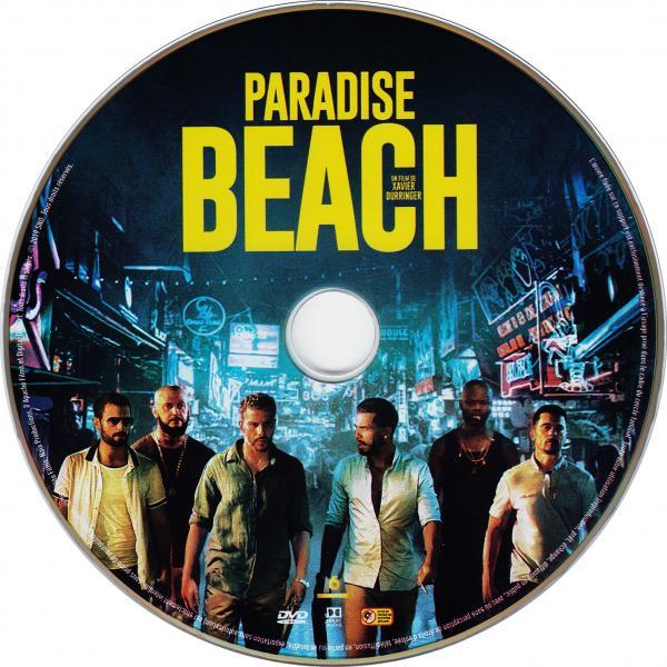 Paradise beach ( sticker )