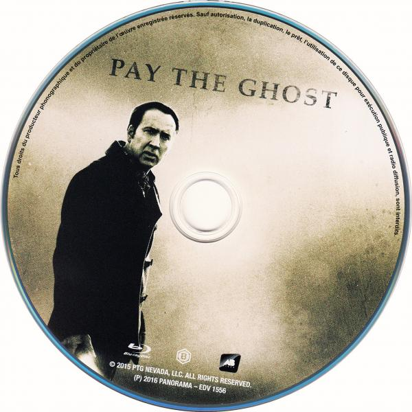 Pay the ghost (blu-ray) (sticker)