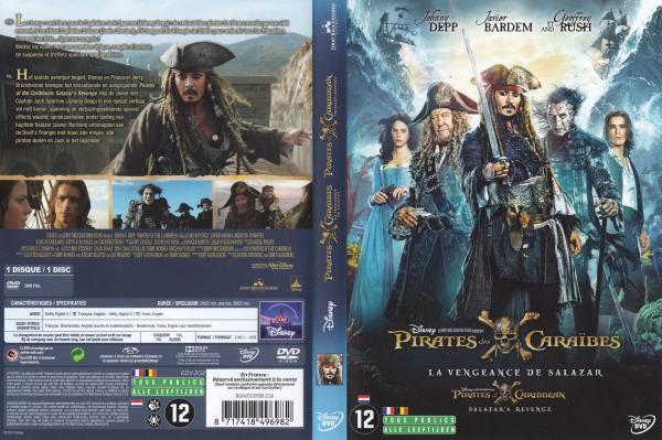 Pirates des caraibes la vengeance de Salazar