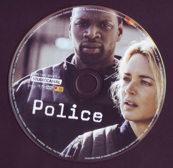 Police (2019 - Sticker)