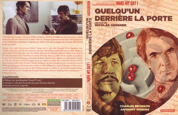Quelqu'un derrière la porte (Combo Blu-ray & Dvd) Slim