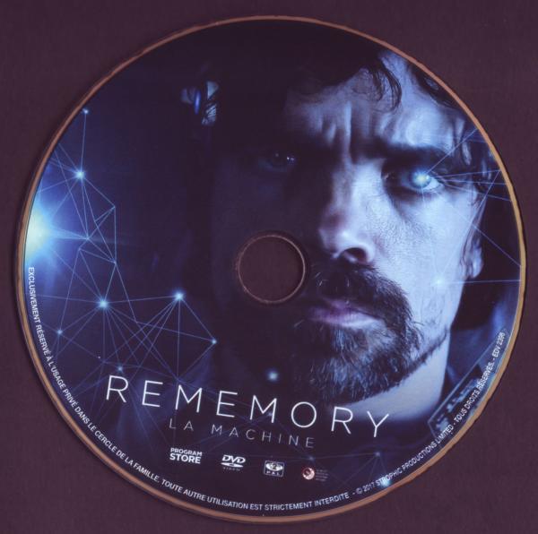 Rememory La machine (Sticker)