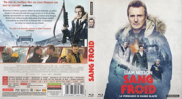 Sang froid (2019) Blu-ray