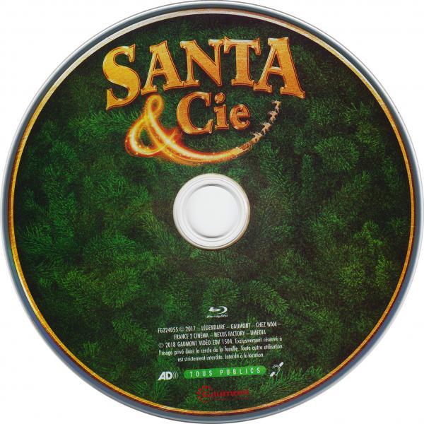 Santa & cie  (blu-ray) (sticker)