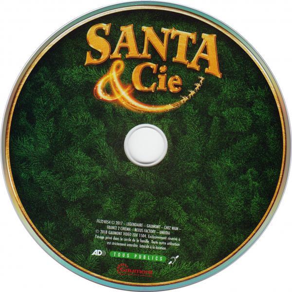 Santa & cie  (sticker)