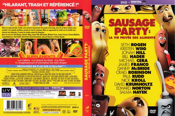 Sausage party la vie privee des aliments