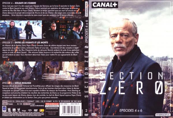 Section zéro saison 1 Dvd 2