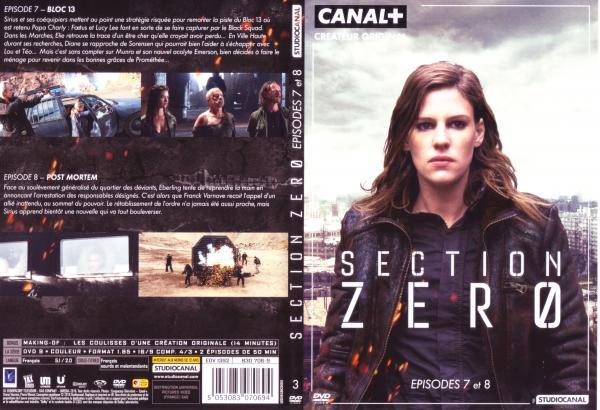 Section zéro saison 1 Dvd 3