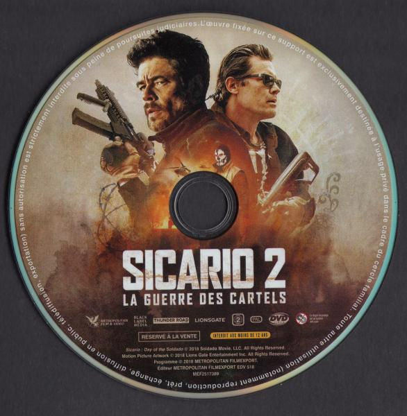 Sicario 2 (Sticker)