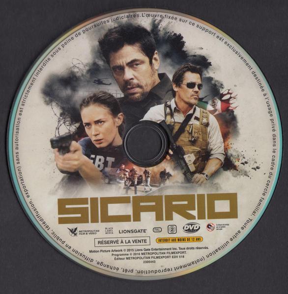 Sicario (Sticker)