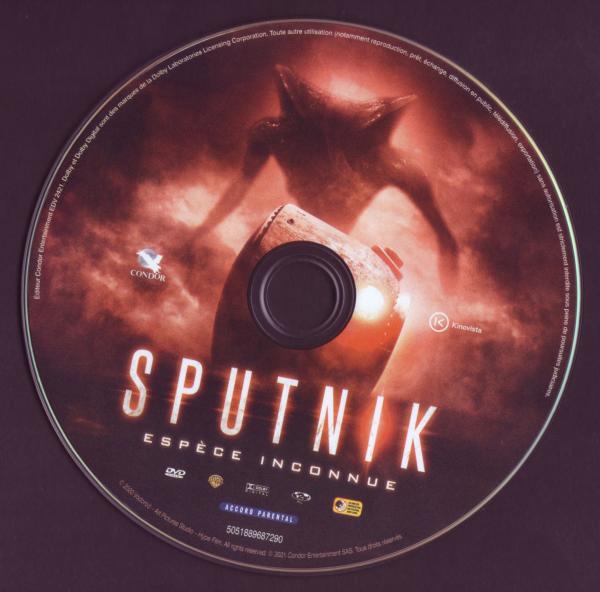 Sputnik, espece inconnue (Sticker)
