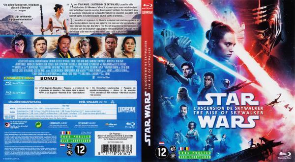 Star wars - L'ascension de Skywalker (blu-ray)