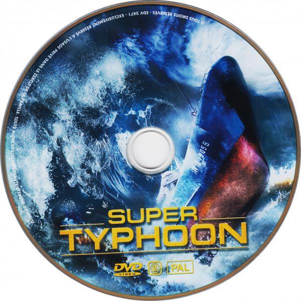 Super typhoon ( sticker )