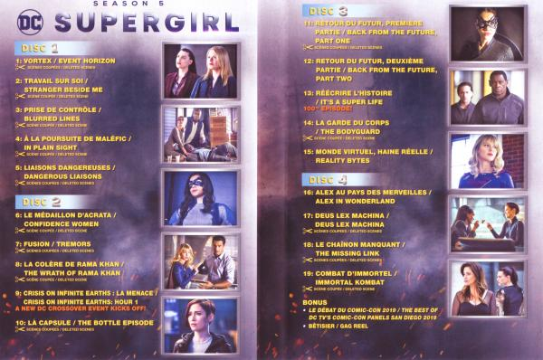 Supergirl Saison 5 (Inlay)