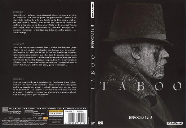 Taboo saison 1 dvd 1 slim