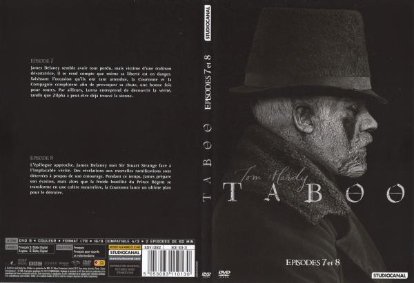 Taboo saison 1 dvd 3 slim
