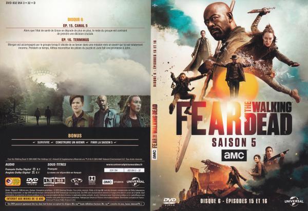 The fear walking dead Saison 5 Dvd 6 slim