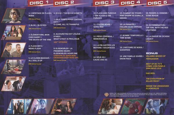 The flash Saison 5 Inlay