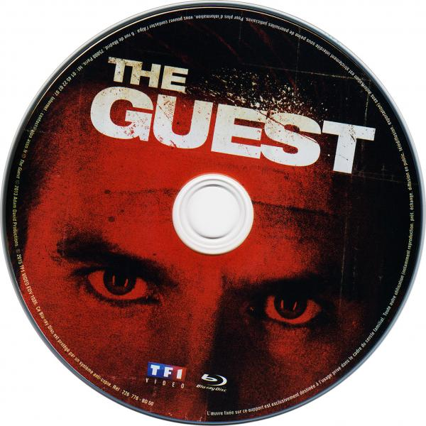 The guest (blu-ray) ( sticker )