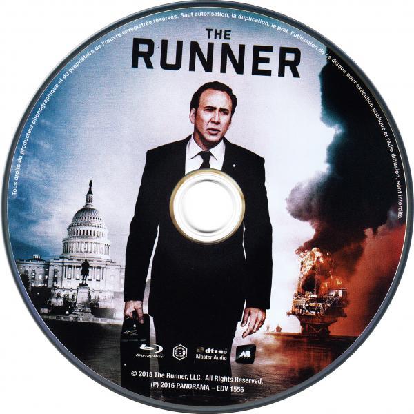 The runner blu-ray (sticker)