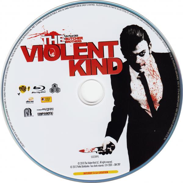 The violent kind (blu-ray) (sticker)