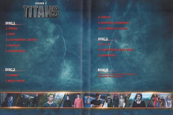 Titans saison 2 (Inlay)