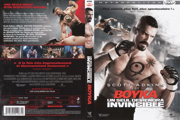 Un seul deveindra invincible 4 Boyka