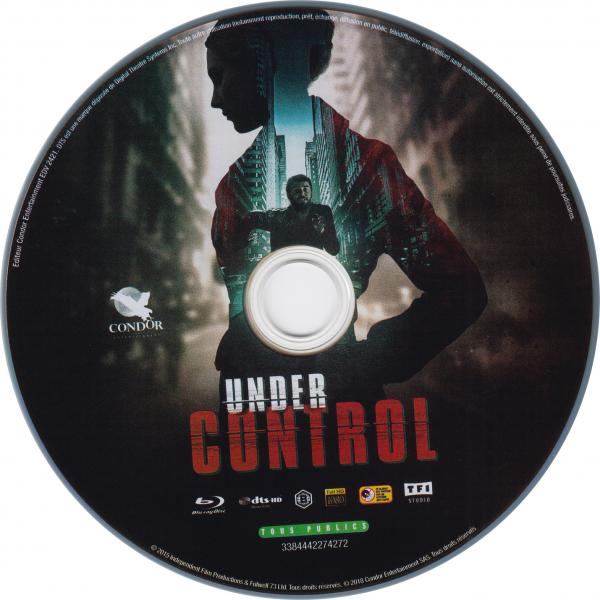 Under control blu-ray sticker