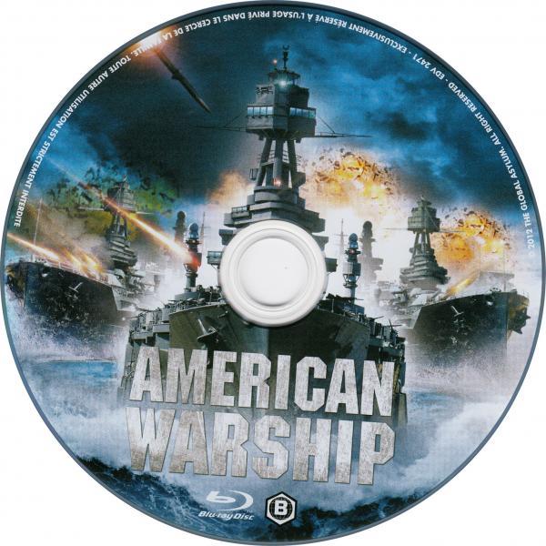 USS Iowa blu-ray sticker