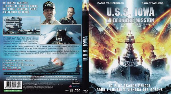 USS Iowa blu-ray
