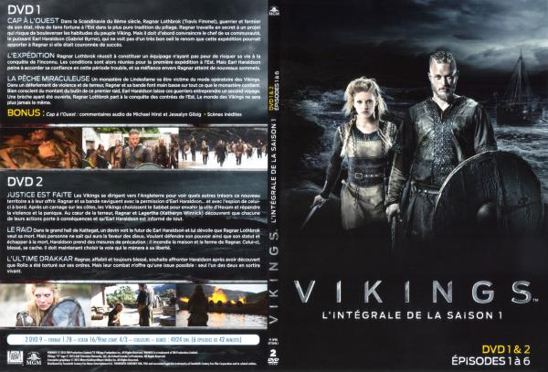 Vikings Saison 1 Disc 1&2 (Slim)
