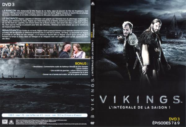 Vikings Saison 1 Disc 3 (Slim)